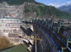 Xiaowan Hydropower Station, Yunnan